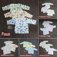 ZBB09 Baju Bayi Tangan Panjang SNI Saffenda Newborn 0-3 bln