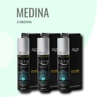 Parfum Non Alkohol Zaym Original - SERIE AL HAJJ Isi 3 Pcs - MEDINA