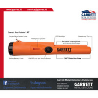Metal Detector - AT ProPointer Garrett - Ori - Made in USA.