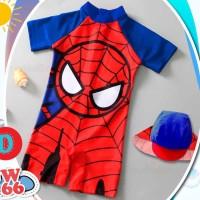 Setelan Baju Celana Renang Swimsuit Anak Bayi Balita Cowok SW2001