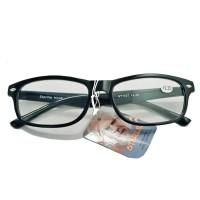 Kacamata baca plus frame kotak pria dan wanita