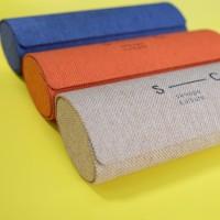 Case / Kotak / Tempat / Box / Hardcase Kacamata Canvas Skhope Culture