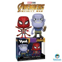 Funko Vynl Marvel Avengers Infinity War - Thanos + Iron Spider 2-Pack