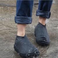 Cover Sepatu Dewasa Pria Wanita Anti Air Hujan Waterproof