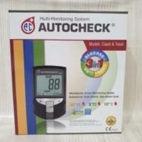 Autochek auto chek 3-1 alat kolestrol asam urat dan gula darah