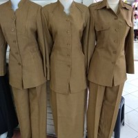 baju seragam pemda dinas pdh guru pns wanita
