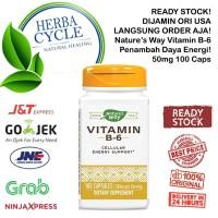 Natures Way Vitamin B6 (50 mg) 100 Cap Nature Way Vit B6