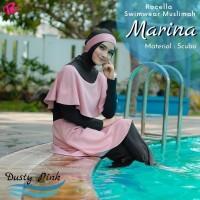 Baju Renang Muslim Wanita Dewasa Marina Model Jumpsuit MUSLIMAH