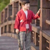 Baju imlek anak cowok F412-15