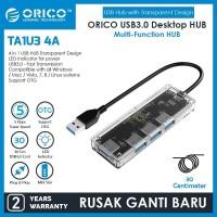 ORICO 4-port USB3.0 Hub Transparent - TA1U3-4A