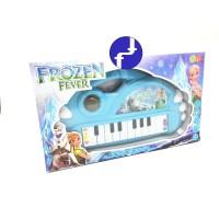 Mainan Anak Piano Anak FROZEN Animal Piano Grand Bayi Biru 899-1
