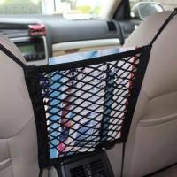 Universal Car Storage Bag Elastic Mesh Net Car organizer Seat Back Sto