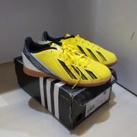Sepatu Futsal Anak Adidas JR F5 In Yellow/White Original Murah
