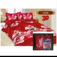 bed cover bonita motif livina