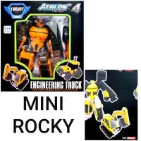 Mainan Anak Cowok SNI - Tobot Athlon 4 Mini Rocky