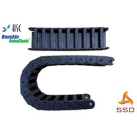 Cable Drag Hanshin Cable Carrier HSP0555-B125-125R Inner Side 125x36mm