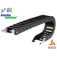 Cable Drag Hanshin Cable Carrier HSP0450-1BN-75R Inner Side 38X28mm