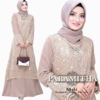 Baju Gamis wanita Muslim / Gamis Murah / Dress Pesta Paramitha Maxi