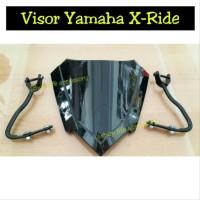 Aksesoris visor windshield MOTOR yamaha xride x ride ttx