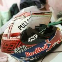 TERLARIS,,, Helm ink cl max repaint shoei flat visor smoke MURAH