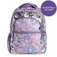 Smiggle Flashy Sequin reversible Backpack ORIGINAL