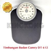 Timbangan Badan Analog Camry DT612 Presisi TInggi Kapasitas Besar