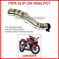 Pipa Slip On CBR250RR Slipon Knalpot Racing CBR 250 RR Akrapovic WRX