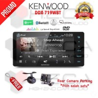 Kenwood DDX-719WBT Head Unit Double Din DDX719WBT Tape Audio Mobil DD