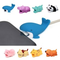 Animal Bites Anti-Break USB Data Cable Protector Universal Cable