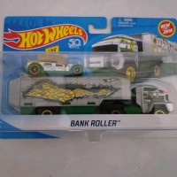 Hot Wheels Bank Roller Vehicle Truck Edition Silver
