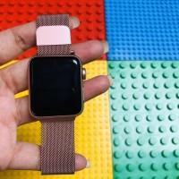 Apple watch iwatch seri 3 rose gold 42mm