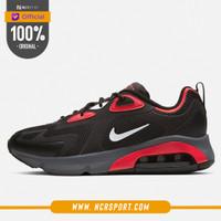Sepatu Sneakers Nike Air Max 200 Black University Red Original CI3865-