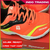Sepatu Badminton RS Sirkuit 570 orangelemon limited stok