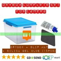 Dry Box Kamera COMPLETE SET Dslr Mirrorless Drone Gopro DryBox Camera