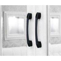 Bitowa | handle gagang pintu laci lemari jendela tarikan hitam panjang