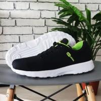 promo sepatu adidas neo zoom sneakers hitam stabilo