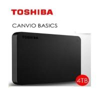 Toshiba Canvio Basic 4TB HD HDD Hardisk Harddisk Eksternal External