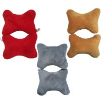 Bantal Sandaran Kepala Mobil - Headrest Warna Polos SEPASANG!
