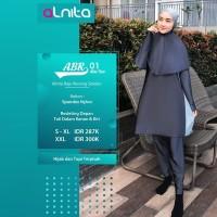 Baju Renang Muslimah + Alnita AN-ABR 01 S_XXL + Setelan Renang Ori