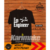 Kaos Baju Iam Engineer God Father Version kaos Profesi - Karimake