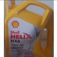 Oli Mobil Shell Helix Hx6 SAE 10w40 Kemasan Galon