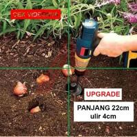 mata bor tanah / mata bor biopori sumur / Earth Auger / mata bor mixer