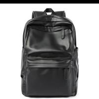 Tas Ransel Backpack Kulit pria Man Leather Bag Laptop