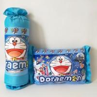 Bantal Karakter Doraemon Set Bantal Guling Karakter Printing Permen