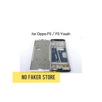 FRAME BAZEL TATAKAN LCD TULANG TENGAH OPPO F5 - F5 YOUTH ORIGINAL