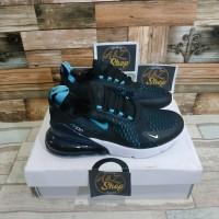 Sepatu Nike Air Max 270 Navy Black Blue Premium Original
