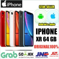 iPhone XR 64 GB NEW ORIGINAL GARNSI RESMI INTERNASIONAL apple GRENFILE