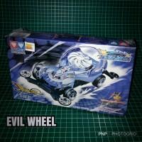 Tamiya Auldey Evil Wheel Team Of Dream Star Team ll Mini 4WD