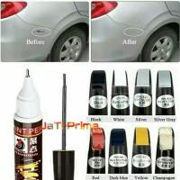 Cat Mobil Paint Pen untuk Menghilangkan Baret Mobil - Pure White