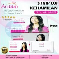 Strip Tes Kehamilan / Tes Pack / Tes Hamil ANDALAN @pcs